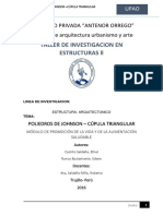 Cupula Triangular Informe