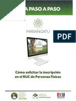 Guia Paso a Paso Nuevo Marangatu - Cómo Solicitar La Inscripción en El RUC de Personas Físicas