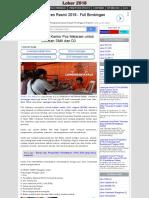 Lowongan Kerja Kantor Pos Mataram Untuk Lulusan SMA Dan D3