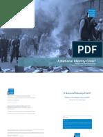 A National Identity Crisis (Moldova Case Study)