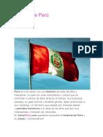 Historia de Perú