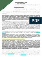 Edital MPU - Técnico Adminstrativo