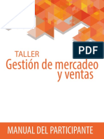 Manual Gestion de Mercadeo y Ventas