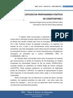Ticinum Um Estudo Da Propaganda Política de Constantino I
