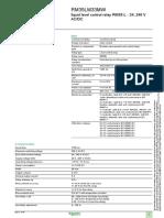 Rele de Control Nivel de Liquido RM35-L