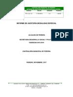 Informe Final Adulto Mayor 2015