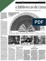 Ranking Bibliotecas de Lima 2015 (El Comercio Artículo)