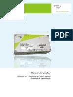Manual CD103 Landis Gyr