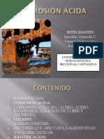 Corrosion Acida