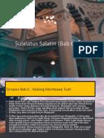 Sulalatus Salatin (Presentation)