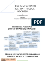 Strategy Immitation to Innovation – Produk Indonesia