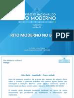 1. Congresso Rito Moderno Curitiba Palestra Rito Moderno.