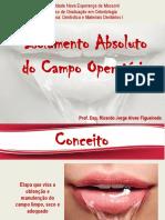 Aula PDF Isolamento Absoluto Prof. Ricardo