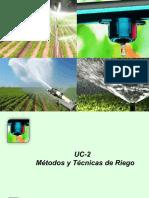 Métodos y Técnicas de Riego UC 2 1503031298