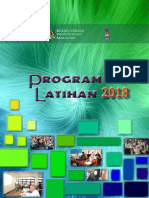 Buku Program Latihan 2018