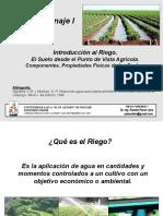 Relación Agua Suelo Planta Atmósfera Conferencias 1 y 2 UC-1