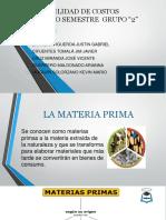 Diapositivas Materia Prima