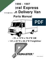 96-97 FedEx Express Body Parts Manual