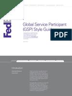 Fedex Gsp Style Guide 052015