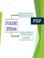 SITUACIONES DEFENSIVAS