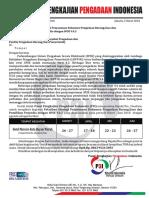 06. Pelatihan Strategi Penyusunan Dokumen PBJ Dan Pemilihan Penyedia Dengan SPSE.4.2 MARET - JUNI