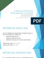 Enfoque de Falla Por Fatiga en El Análisis