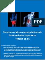 Trastornos Musculoesqueléticos de Extremidades Superiores TMERT- EE.SS