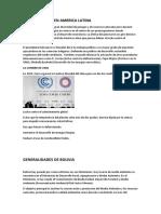 Generalidades en America Latina