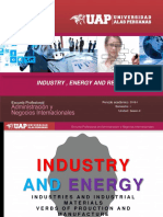 Energy, Industry and Retail