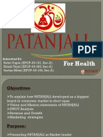 Business Presentation on Patanjali.pdf