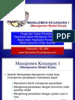 7 Manajemen Modal Kerja Persediaan