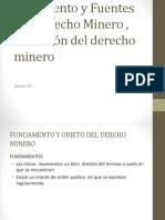 Sesion 02 Nacimiento y Fuentes Del Derecho Minero Ubicación