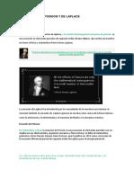 Teoremas de Poisson y de Laplace