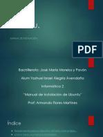 Manual de Instalacion Ubuntu_ Yoshuel Israel Alegria Avendaño