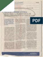 Solicitada Medios de Comunincación (2009) de ADEPA