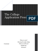 college application process overview 1