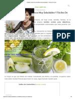 7 Batidos Verdes Para Diabéticos Muy Saludables Y Fáciles de Hacer