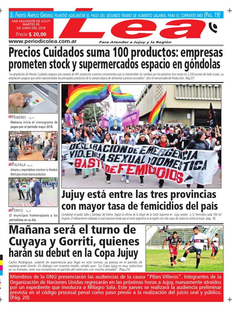 Periódico Lea Martes 5 de Junio Del 2018 f69f3ab933e