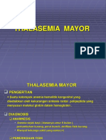 Thalasemia Mayor