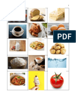 Handout_Foods and Drinks
