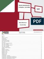 Direito Administrativo - Licitações - (Lei 8.666).pdf