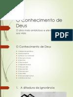 EBD - O Conhecimento de Deus - Lição1_A ditadura da ignorância.pptx