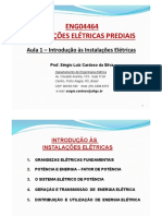 Instalações Elétricas - Aula 01 - Introdução Às Instalações Elétricas