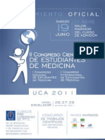 Cartaz Congresso Estudantes Med Paraguai