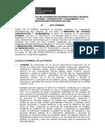 CONVENIO ESPECÍFICO DE COOPERACION INTERINSTITUCIONAL ENTRE EL MINISTERIO DE VIVIENDA.doc
