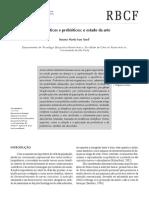 Artigo Pre e Pró-bióticos