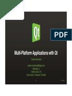 Linechart Example: Qt Documentation
