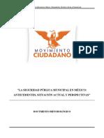 1 La Seguridad Publica Municipal en Mexico