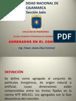 2.-Los Agregados - TecnologíaConcreto INGCJDC