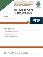 Artefactos en Ultrasonido